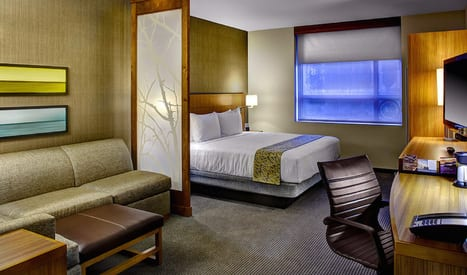 Big Hotel Chains Ditch Full-Service Properties in Favor of the Light-Touch Approach
