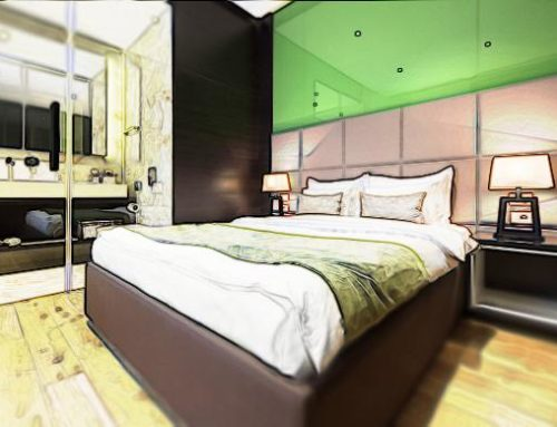 The future hotel design and technology in concept development