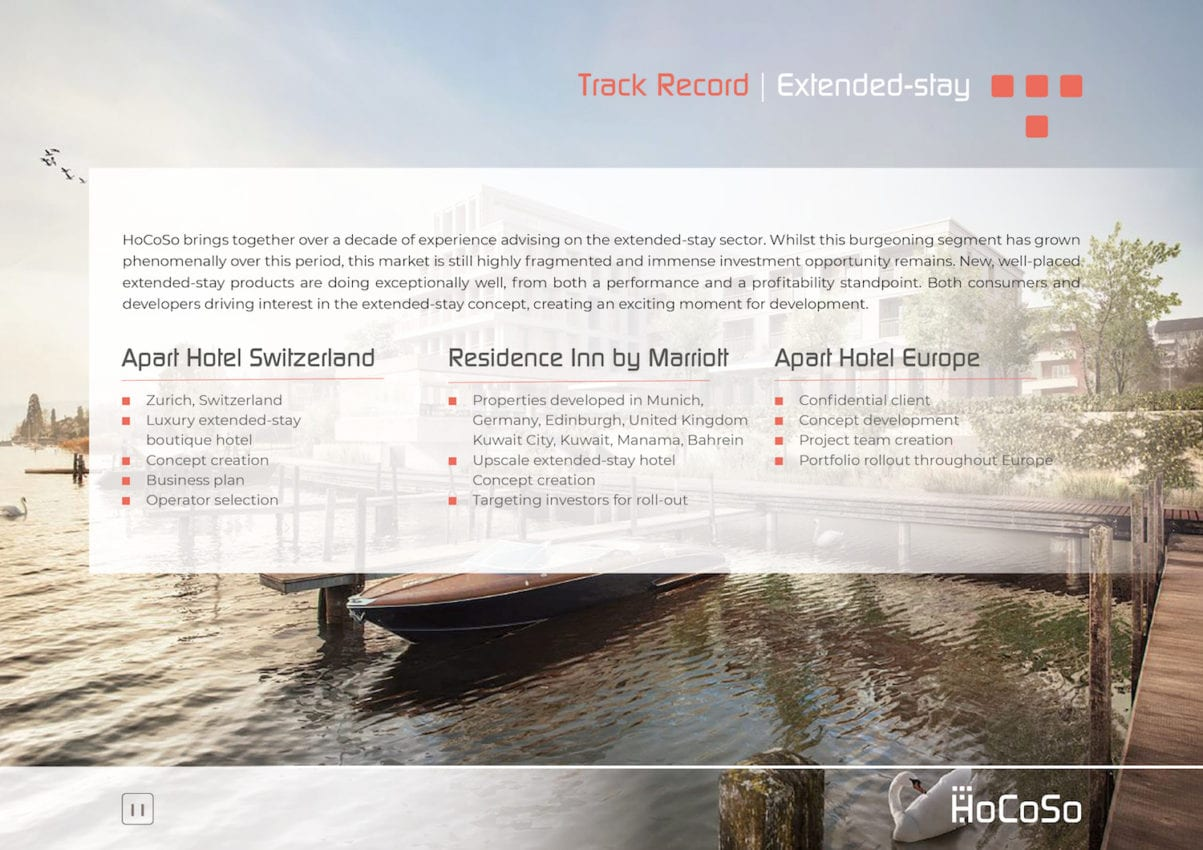 HOSPITALITY CONSULTANT Hocoso Brochure Extended Stay