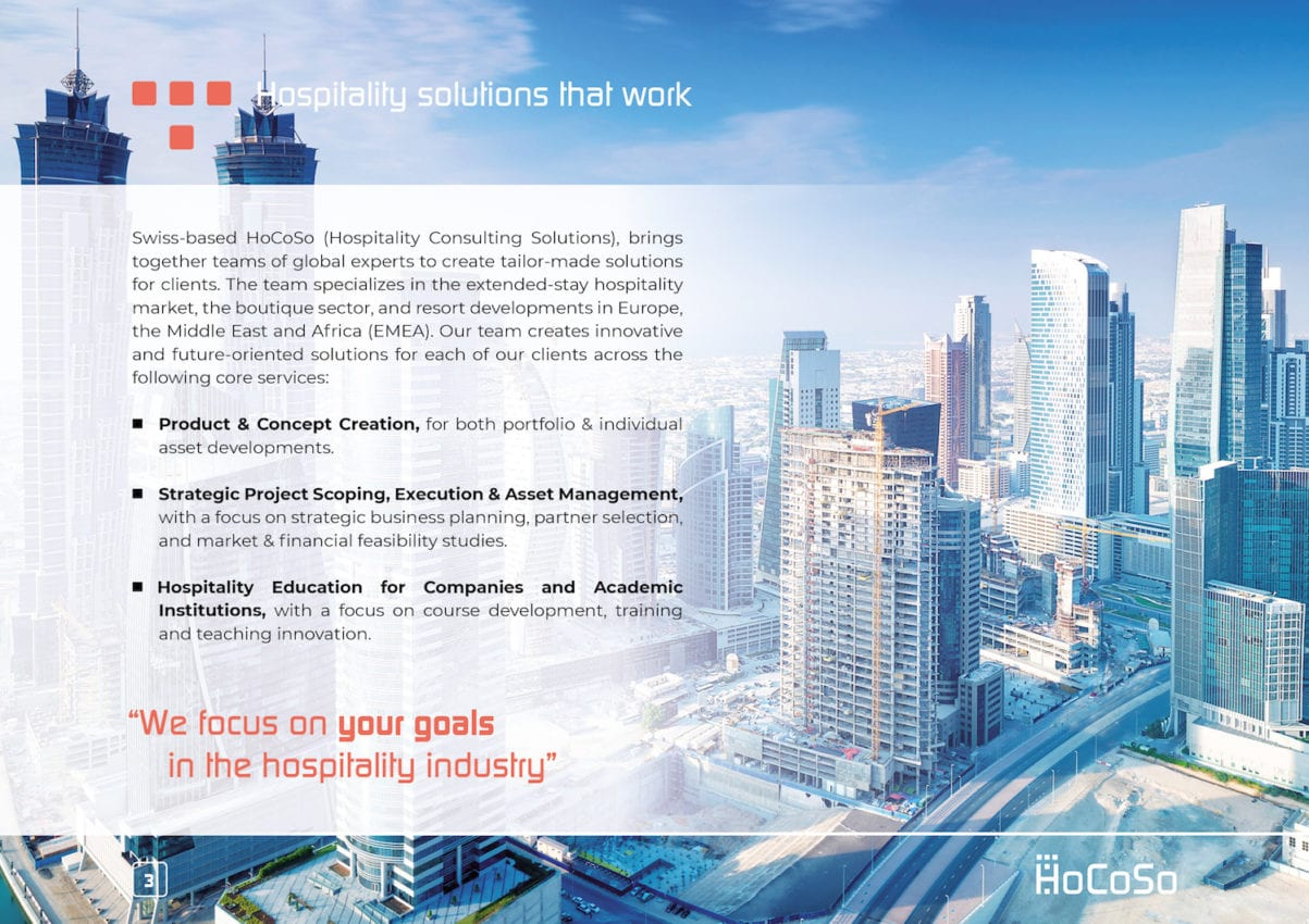 HOSPITALITY CONSULTANT Hocoso Brochure About Us