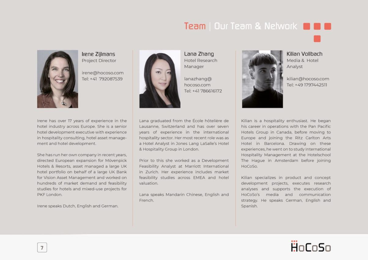 HOSPITALITY CONSULTANT Hocoso Brochure Irene Zijlmans, Lana Zhang, Kilian Vollbach